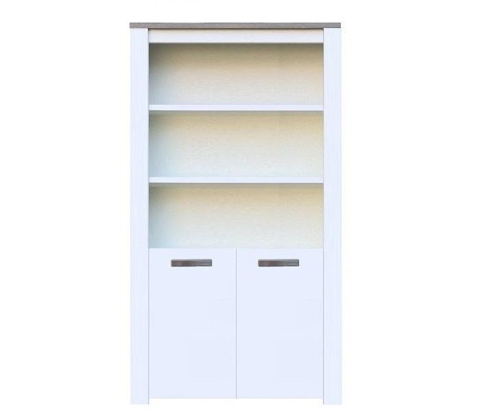 click to enlarge homeboekenkasten boekenkast milaan grijs