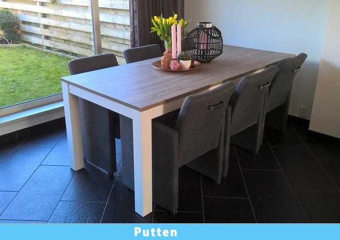 Tafel Grijs Eiken : Tafel grijs aula bijzettafel zwart en grijs made design collect