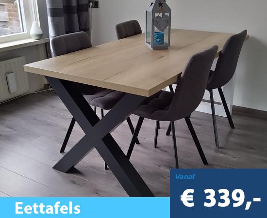 index-eettafel-kruispoot-zwart-bruin-eiken-200
